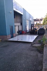 Constructieplaat 7 x 4 meter
